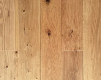 European Wirebrushed Wide Plank White Oak Hardwood Flooring -  Engineered