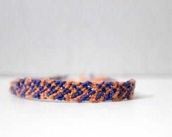 Blue and Pink Embracelet