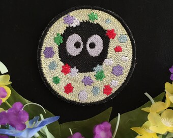 Totoro, Spirited Away- Soot Sprite, Charm, Patch