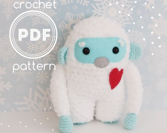 Yeti crochet pattern