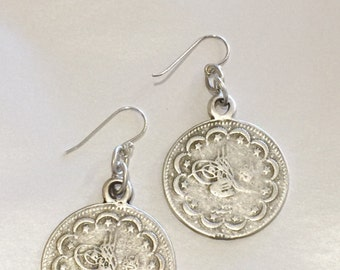 Large Coin earrings