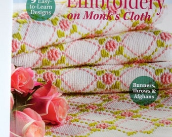 Huck Embroidery Book Trice Boerens Fiber Arts Holiday Gift Retro Craft *Hand Embroidery *Gift Idea *Needlework *Fiber Arts *Embroider Pillow
