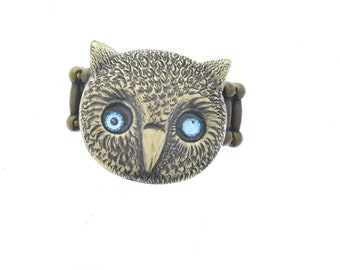 Owl  ring, one size fits all, sold 1 each, Ring-6