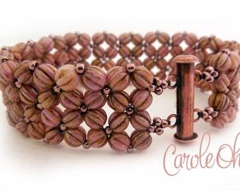 Melonia Bracelet Tutorial by Carole Ohl