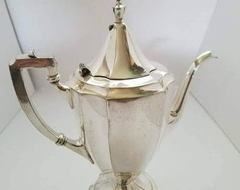 Forbes silver company Coffee decanter Sheffield reproduction