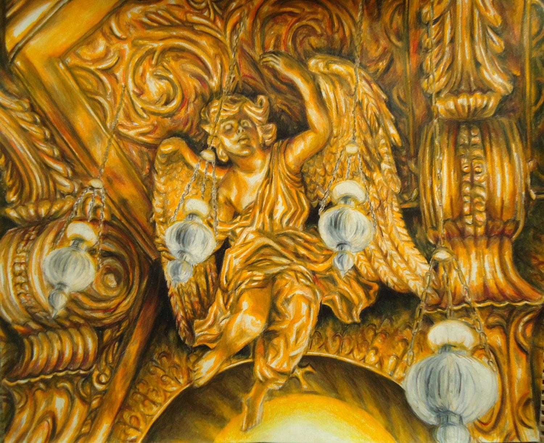 Gold Angel Wings Wall Decor. Finest Enchanting Metal Angel Wings ...