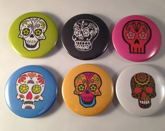 Day of the Dead Bottle Openers and Pocket Mirrors