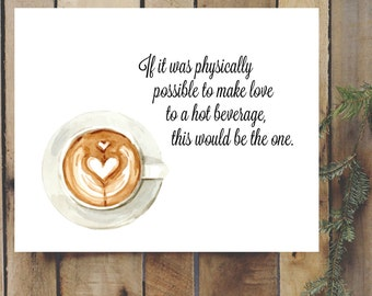 Gilmore Girls Coffee Quote Digital Printable 8x10 Watercolor CoffeeMug Lorelai