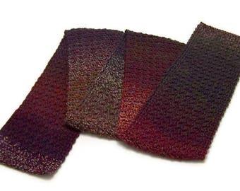 Mens Crochet Scarf - Neck Warmer - Neck Wrap - Mens Dress Scarf  - Acrylic