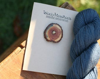 Diamond Willow Button- Wooden Buttons- Crafting, Sewing, Knitting Buttons- Buttons for your DIY projects