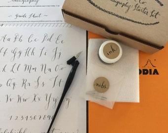 Calligraphy starter kit calligraphy beginner kit pointed