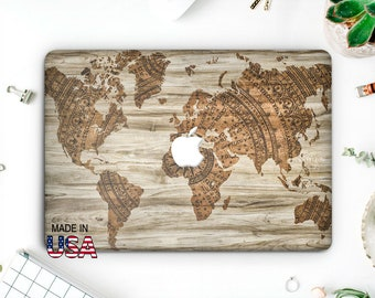 Map Macbook Pro Case Map Laptop Case Macbook Hard Case Macbook Air Marble Macbook Air 13 Europe Macbook Pro 13 Macbook Pro 2016 AMM2022