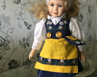 Doll Made in Sweden Vintage item