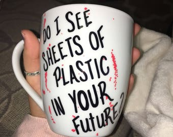 do i see sheets of plastic in your future? // dexter morgan