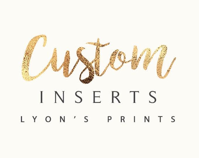 Custom insert, Diaper Raffle Tickets, baby shower,raffle game, book request ticket, baby shower game, party games, wedding