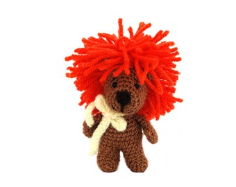 Little Amigurumi Lion : Lion doll etsy