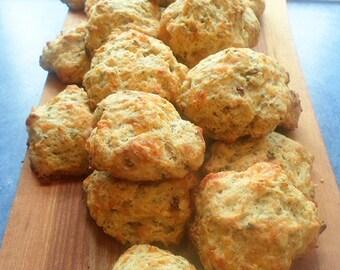 Organic Rosemary Focaccia Artisan Bread Mix - with Local Small Farm Organic Wheat, Spelt & Corn - Food Market - DIY Flat Bread Mix