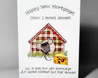 New Home Moose Card WWNH08