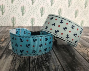 Nautical bracelet, kids i.d bracelet, personalize