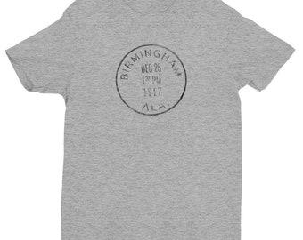 Next Level Brand - Birmingham Alabama Postmark - Next Level 3600 Shirt