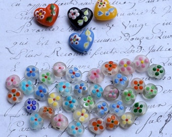 De-stash collection of beautiful glass beads