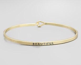 Beautiful Engraved Bracelet