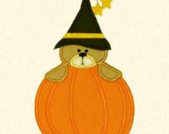 Adorable Halloween Applique Machine Embroidery Designs