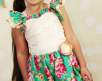 Bexley's Beautiful Bubble Romper PDF Pattern sizes 6/12 months to 8 girls