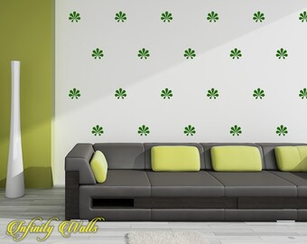Damask Wall Decor Decals - Damask Decal Set - Damask Pattern Decals - Nursery room decor - Damask Wall Decals - Living room decor