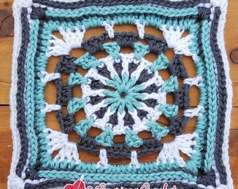 Louise Circle in A Square Crochet Pattern