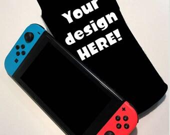 Custom Nintendo Switch Case Nintnedo Switch Case Switch Accessory Nintnedo Switch Accessory