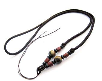 1Pc Silk Cord Beads For Pendant  ja662