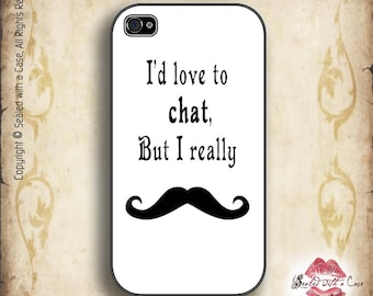 Mustache Moustache  - iPhone 4/4S 5/5S/5C/6/6+ and now iPhone 7 cases!! And Samsung Galaxy S3/S4/S5/S6/S7