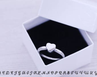 SIZE 10 - Cremation Ring - Cremation Jewelry - Engraved Jewelry - Urn - Pet Memorial - Urn Ring - Pet Cremation - Engraved Ring - Heart Ring