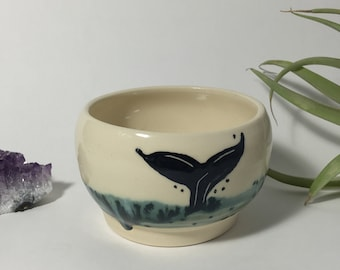 19 Whale wine cup