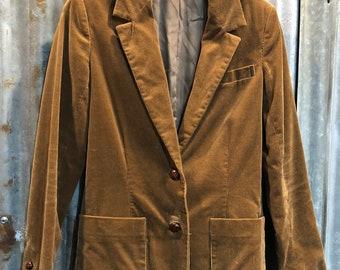 Vintage 'Sears' The Fashion Place Corduroy Blazer