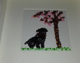 Dog Bead Picture