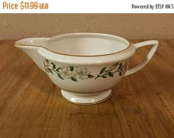 On Sale Princess China Tru Tone Bridal Wreath Serving Creamer or Syrup Pitcher Fine China Replacement Serving Dish by Empcraft Made in USA