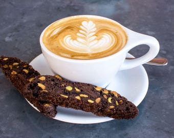 Chocolate, Cranberry, Almond Biscotti