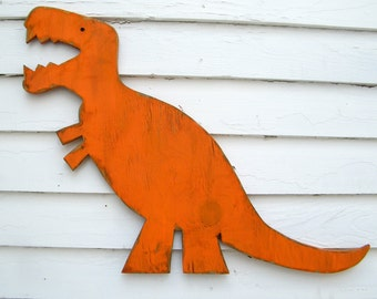 T Rex Wall Art Dinosaur Large Baby Nursery Wall Decor
