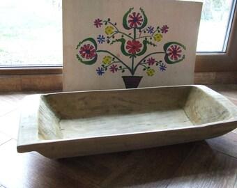 wooden bowl primitive Dough Bowl small  Wood Dough Bowl  Vintage   Home decor  Rustic Decor  Home decor Wooden bowl  Wood dough bowl