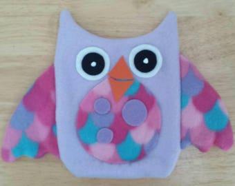 Cute owl hand puppet