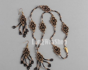 1001 Nights set of Eastern beauty necklace and earrings