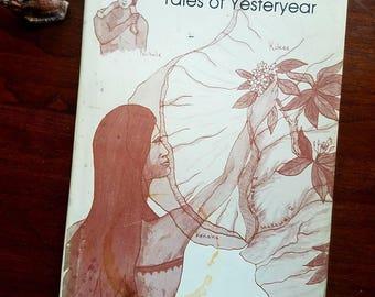 """Signed """"Hawaii -- Tales of Yesteryear"""" by Roland L. Gay. 1977 hardback. Kauai. Hawaiian legends. Polynesia. Island history."""