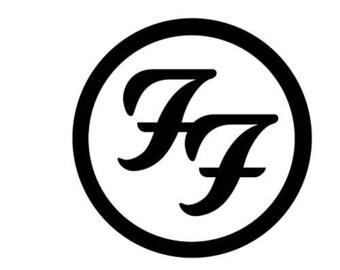 Foo Fighters Logo vinyl decal