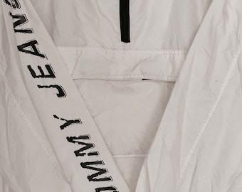 Tommy Jeans vintage windbreaker white(rare) size XL