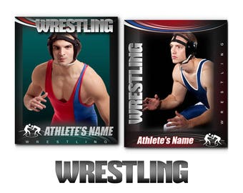 Wrestling Cards Templates