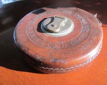 Antique measuring tape Keufflwe & Esser, new yorrk