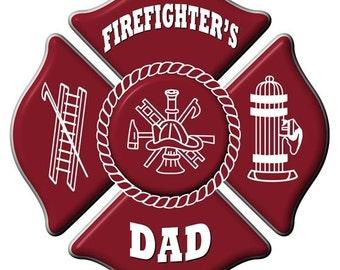 Firefighter S Mom Maltese Cross With Heart Sterling Silver