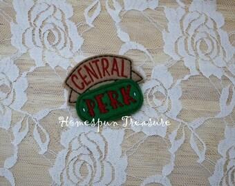Central Perk Feltie Design- Friends Feltie Design- Felt Felty Feltie - Machine Embroidery Designs - Instant Download - 5x7 Hoop